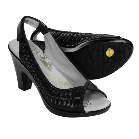 Jambu Sonya Sling-Back Sandals - Leather Peep-Toes (For Women)