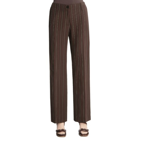Madison Hill Multi-Pinstripe Pants (For Women)