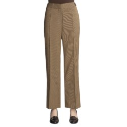 Madison Hill Mini-Check Pants (For Women)