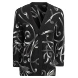 Madison Hill Cotton Cardigan Sweater - Pull-Through Swirls, 3/4 Sleeve (For Women)