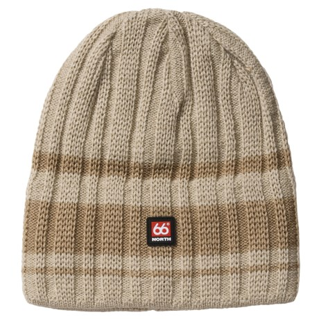 66 North 66° North Surtsey Beanie Hat (For Men and Women)