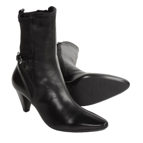 Aquatalia by Marvin K. Quiz Weatherproof Leather Boots - Pointed Toe (For Women)