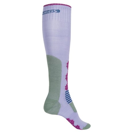 Eurosock Snowride Snowboard Socks - Over the Calf (For Women)