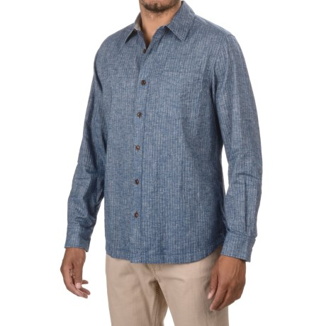 Woolrich Mainroad Shirt - UPF 20, Organic Cotton, Long Sleeve (For Men)