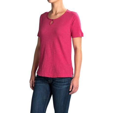 Woolrich Bell Canyon Shirt - Organic Cotton, Short Sleeve (For Women)