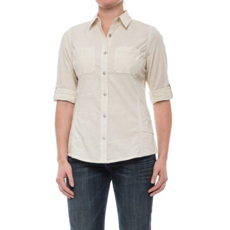 Woolrich Conundrum Peak Convertible Shirt - Long Sleeve (For Women)