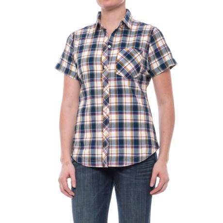 Tall Pines Woolrich Tall Pine Pucker Shirt - Short Sleeve (For Women)