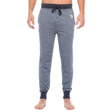 USPA U.S. Polo Assn. Marl Jersey Joggers (For Men)