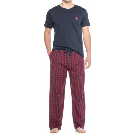 USPA U.S. Polo Assn. Cotton Pajamas - 2-Piece, Short Sleeve (For Men)