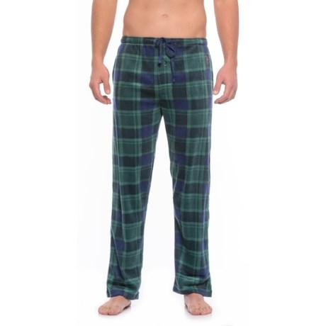 USPA Plaid Silky Fleece Lounge Pants (For Men)