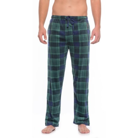 USPA Plaid Silky Fleece Lounge Pants (For Men)