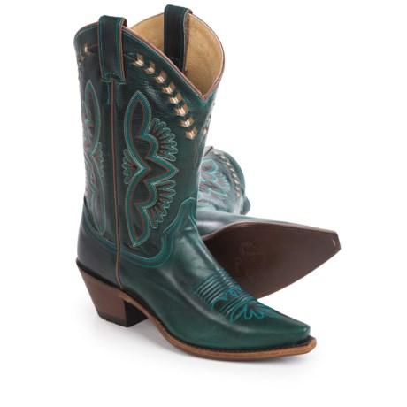 "Justin Boots L4302 Cowboy Boots - J-Toe, 13"" (For Women)"