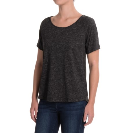 Artisan NY Raglan Moulinex Slub Shirt - Cotton Blend, Short Sleeve (For Women)