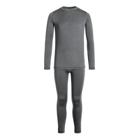 Climatesmart Comfortech Poly Top and Pants Base Layer Set - Long Sleeve (For Little and Big Boys)
