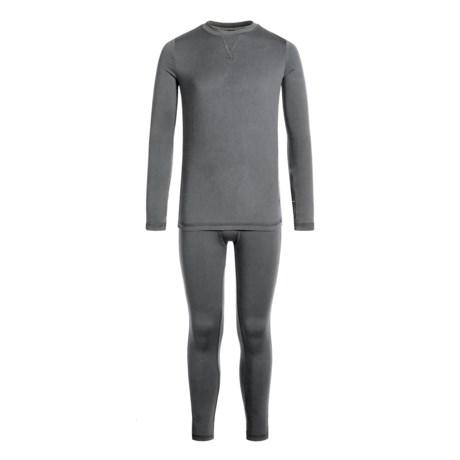 Climatesmart Comfortech Poly Top and Pants Base Layer Set - Long Sleeve (For Little and Big Boys)