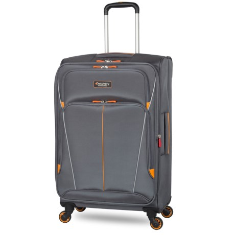 """Discovery Adventures Expedition Collection EXP Softside Twister Spinner Suitcase - 28"""""""