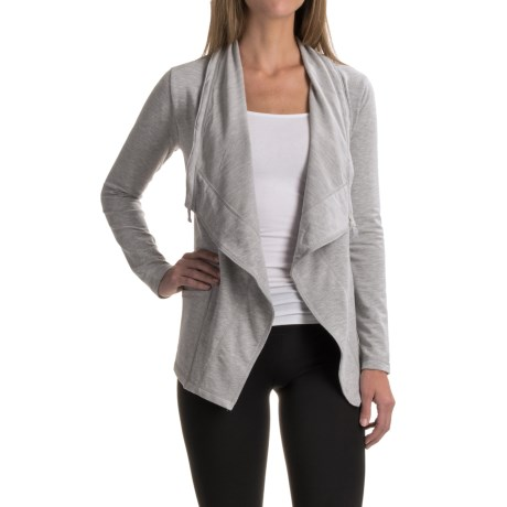 Yogalicious 90 Degrees by Reflex Tie Jacket (For Women)