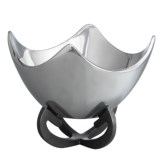 Nambe Anvil Scroll Bowl - 9""