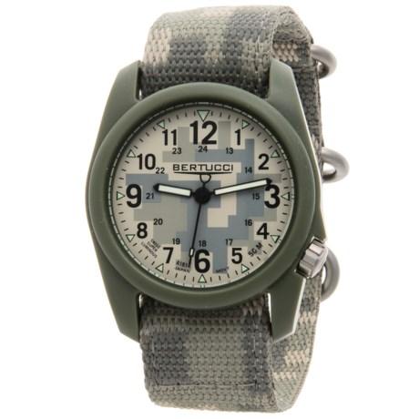 Bertucci Commando Camo Analog Watch - 40mm, Nano Nylon Strap