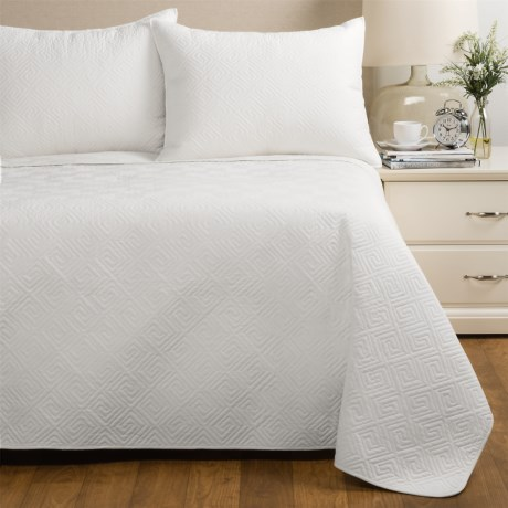 Ivy Hill Home Saxon Quilt Set - Twin