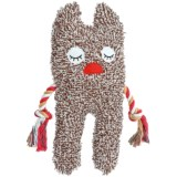 Patchwork Pet Freckles Greybar Plush Dog Toy - Squeaker