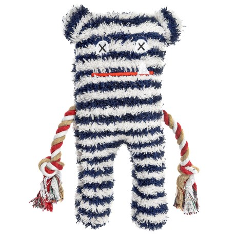 Patchwork Pet Lenny Greybar Plush Toy - Squeaker