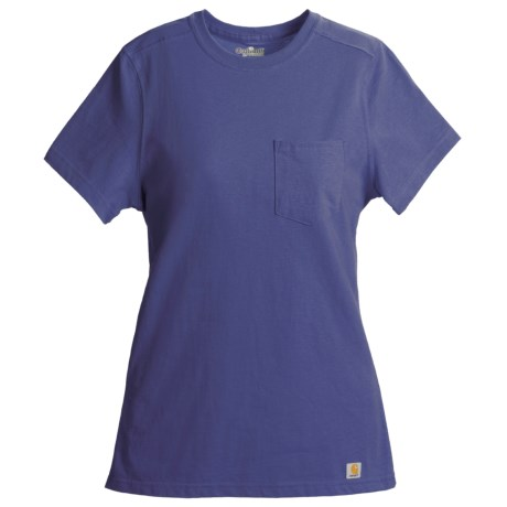 Carhartt Pocket T-Shirt - Short Sleeve (For Women)