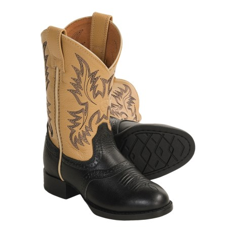 Ariat Heritage Stockman Boots - Leather (For Kids and Youth)