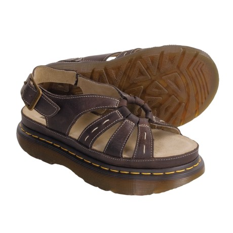 Dr. Martens Penny Sandals - Leather (For Women)