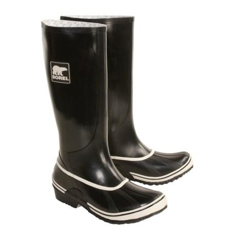 Sorel lington Rubber Boots - Waterproof, Lined (For Women)
