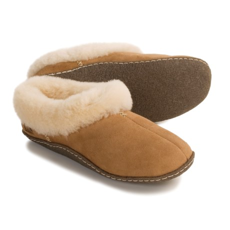 Sorel Nakiska Shearling-Lined Slippers (For Women)