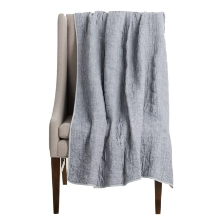 Artisan de Luxe Diamond Slub Throw Blanket - 50x60""
