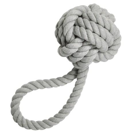 "Jax & Bones Rope Knot Dog Toy - 3"""