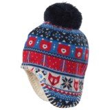 The North Face Faroe Beanie - Ear Flaps, Fully Lined (For Infants)