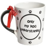 Tumbleweed Truthful Dog Mug - 20 fl.oz., Ceramic