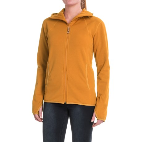 Fjallraven Abisko Fleece Hoodie - Full Zip (For Women)