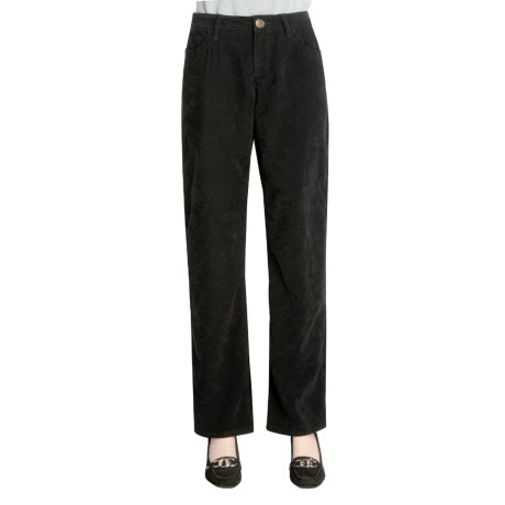 Zenim Sueded Cotton Pants - Five Pocket (For Women)