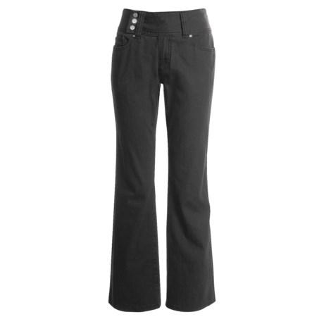 Zenim Stretch Cotton Pants (For Women)