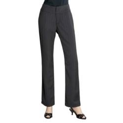 Zenim Stripe Pants - Wide Waistband (For Women)