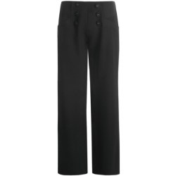Zenim Sailor Button Pants (For Women)