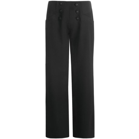 Zenim Sailor Button Pants (For Women)