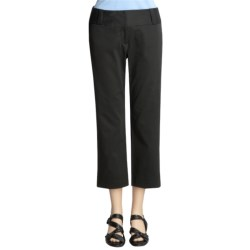 Atelier Stretch Cotton Ankle Pants (For Women)