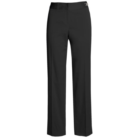 Atelier Slim Leg Pant - Silver-Tone Buckle (For Women)