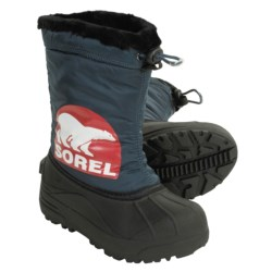 Sorel Snow Commander Winter Pac Boots - Waterproof, Insulated (For Youth)
