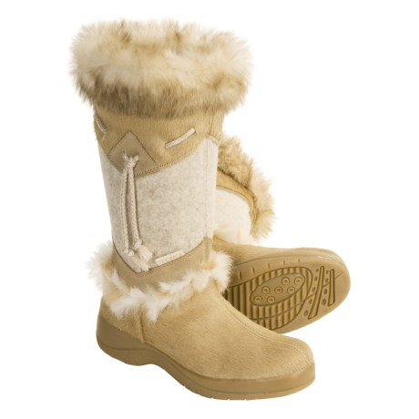Tecnica Alaska Winter Boots - Insulated, Cowhide, Suede (For Women)