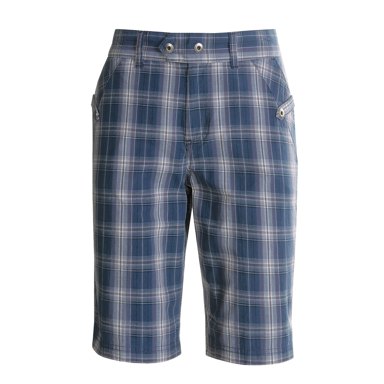 Columbia Sportswear Tender Trails Plaid Shorts For Women 2617w