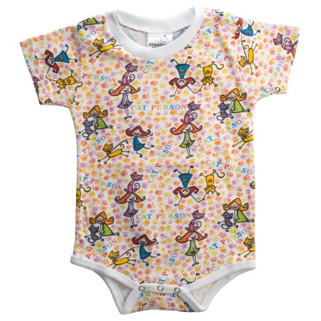 Toast & Jammies Printed Baby Bodysuit - Cotton, Short Sleeve (For Infants and Toddlers)