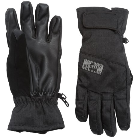 Burton Approach Under Gloves - Waterproof, Insulated, Touchscreen Compatible (For Men)