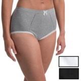 Marilyn Monroe Seamless High-Waisted Panties - 3-Pack, Briefs, Gray (For Women)