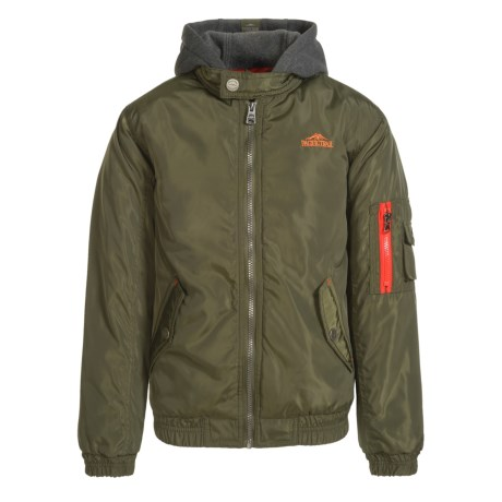 Pacific Trail Bomber Hooded Jacket - Insulated (For Big Boys)